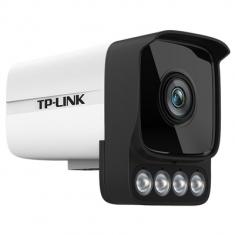 TP-LINK TL-IPC546H-W 400万全彩音频枪机网络摄像机DC供电