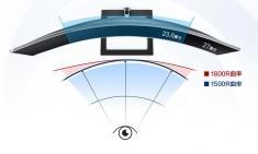 飞利浦 271E1CS  27英寸 1500R曲面显示器  电脑液晶显示器屏 微边框 HDMI接口