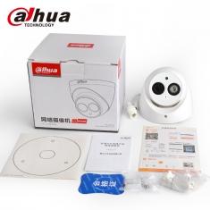 大华DH-IPC-HDW4438C-A 400万摄像头4MP录音半球H265高清监控