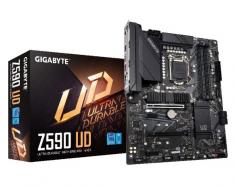 Gigabyte/技嘉 Z590 UD 电竞游戏主板支持10/11代处理器